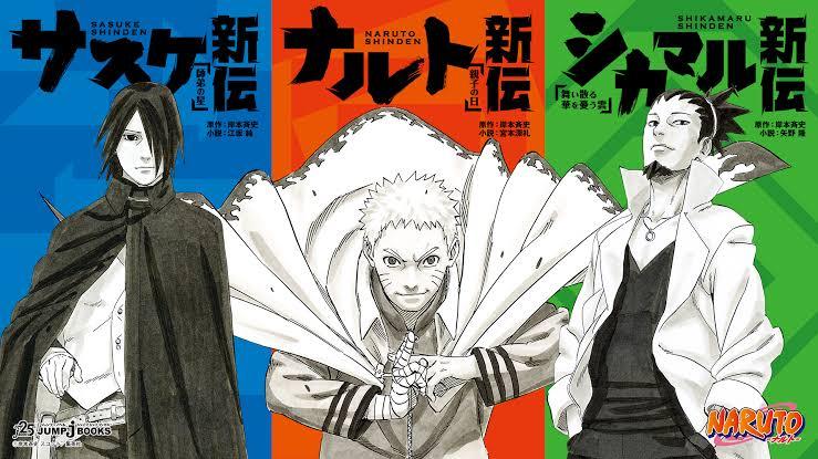 Naruto Shinden Light Novels Anime Adaptation