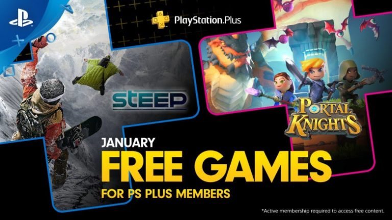 PS-Plus-January-2019 Free Games