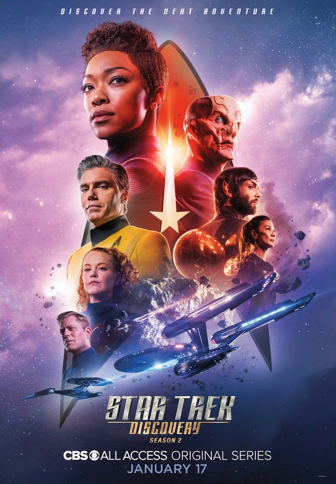 Star Trek: Discovery Season 2 Trailer and Poster Released