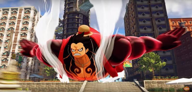One Piece World Seeker Cinematic Trailer
