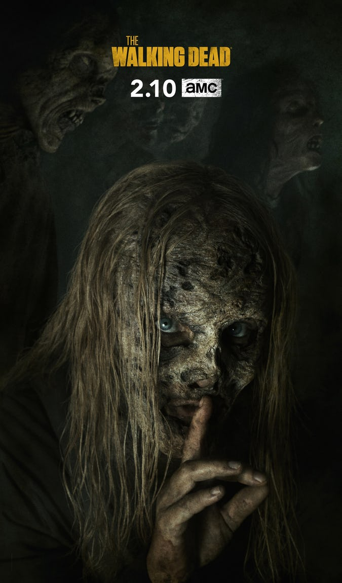 TWD: Whisperers Leader Alpha Featured In New Season 9B Poster