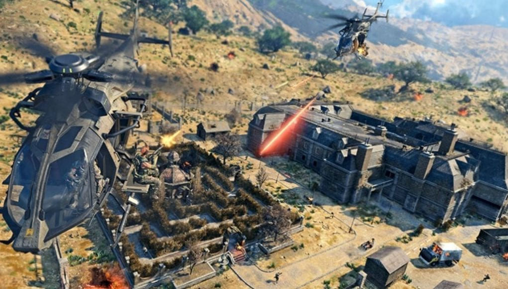 Call of Duty: Black Ops 4 Helicopter Locations
