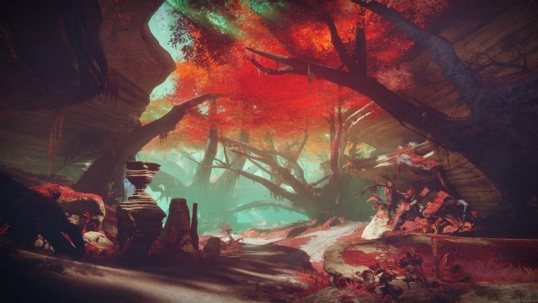 Destiny 2 Ancient Haunts Lost Sector