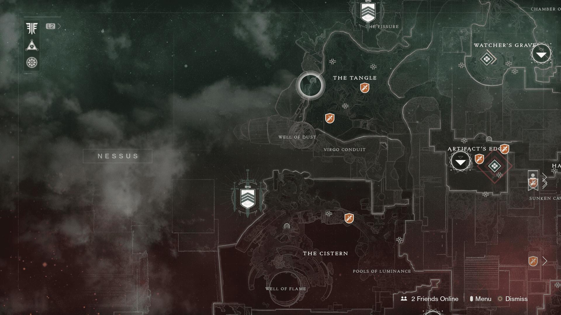 destiny 2 ancient haunts location