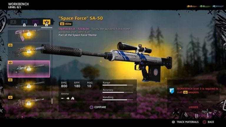 Far Cry New Dawn Weapons
