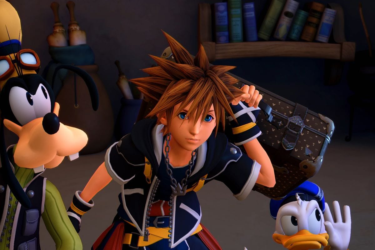 Kingdom Hearts 3 update