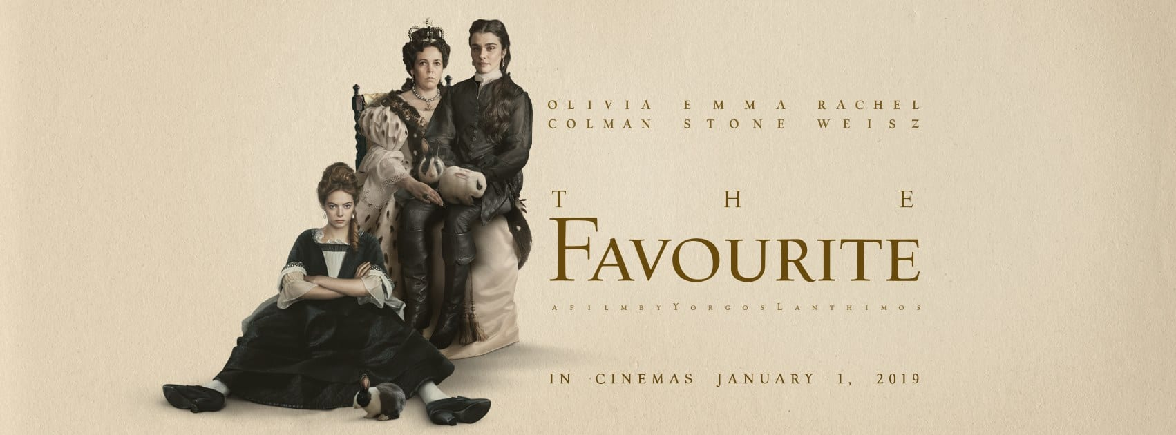 The Favourite: Netflix, DVD, Blu-ray, Digital And Amazon Prime