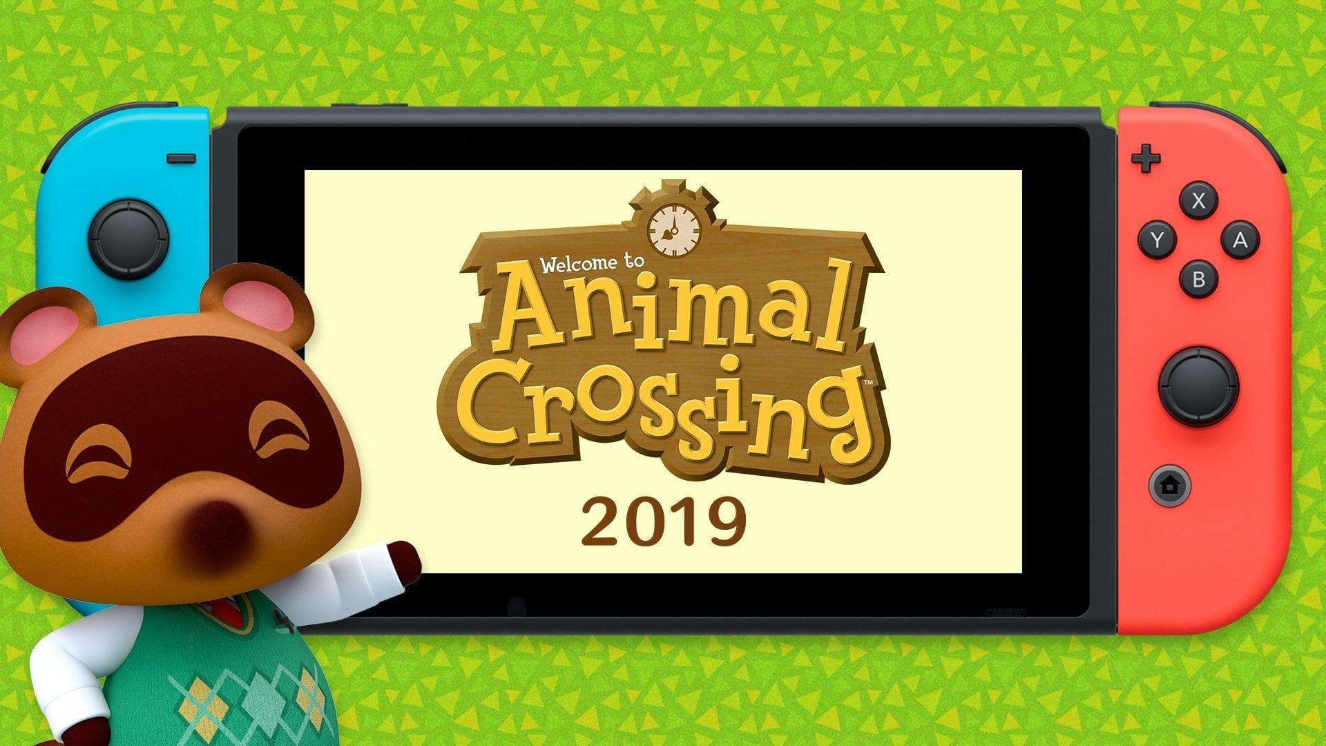 Animal Crossing Nintendo switch update