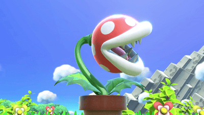 Smash Bros Ultimate Piranha Plant update