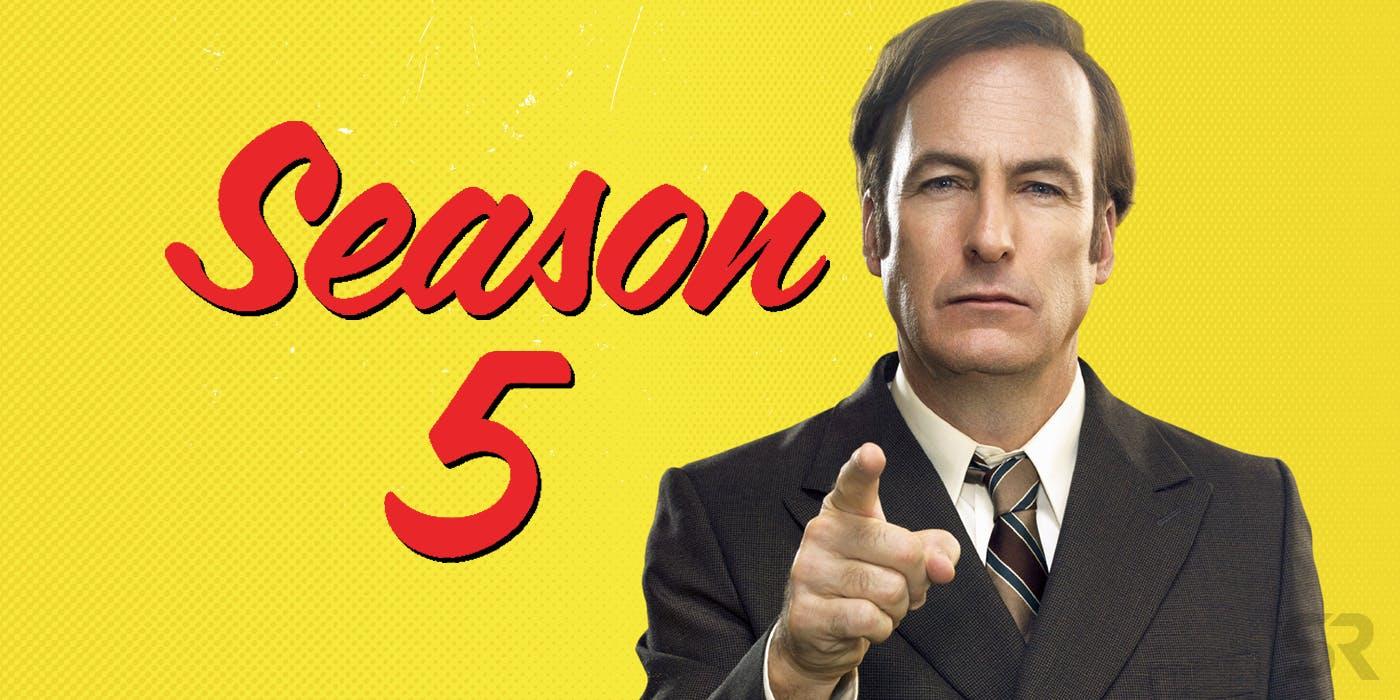 Better Call Saul Season 5 update