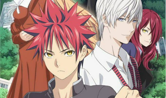 Food Wars Season 3 Dub And Season 4 Release Details For 2019