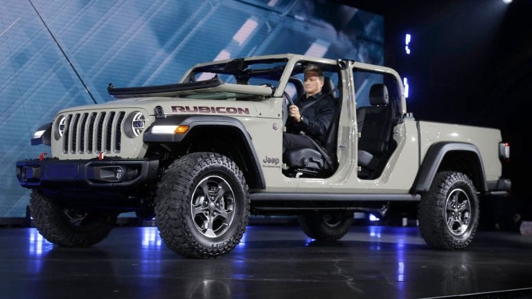 2020 Jeep Gladiator Release Date