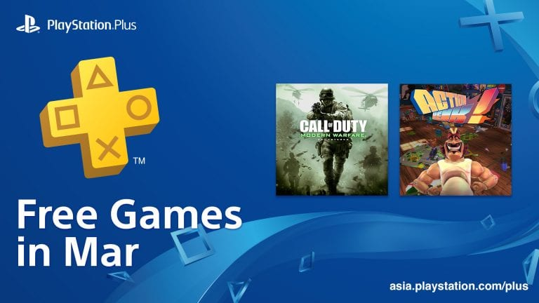 PS Plus March 2019 Games