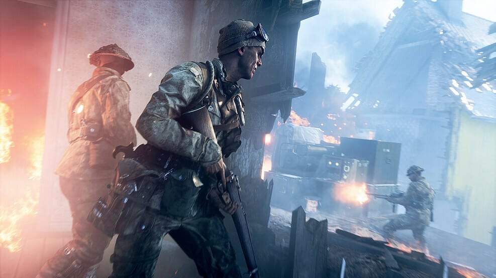 Footage of Battlefield V's battle royale mode leak online
