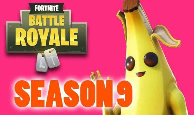Fortnite Season 9 update