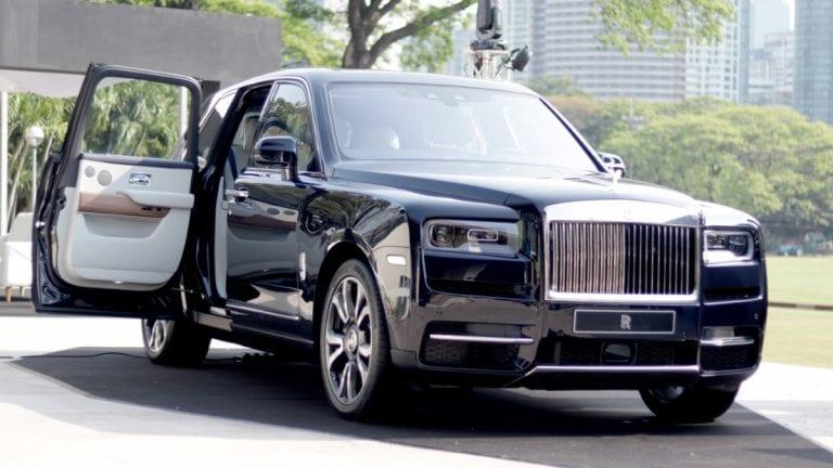Rolls Royce Cullinan Suv Specifications