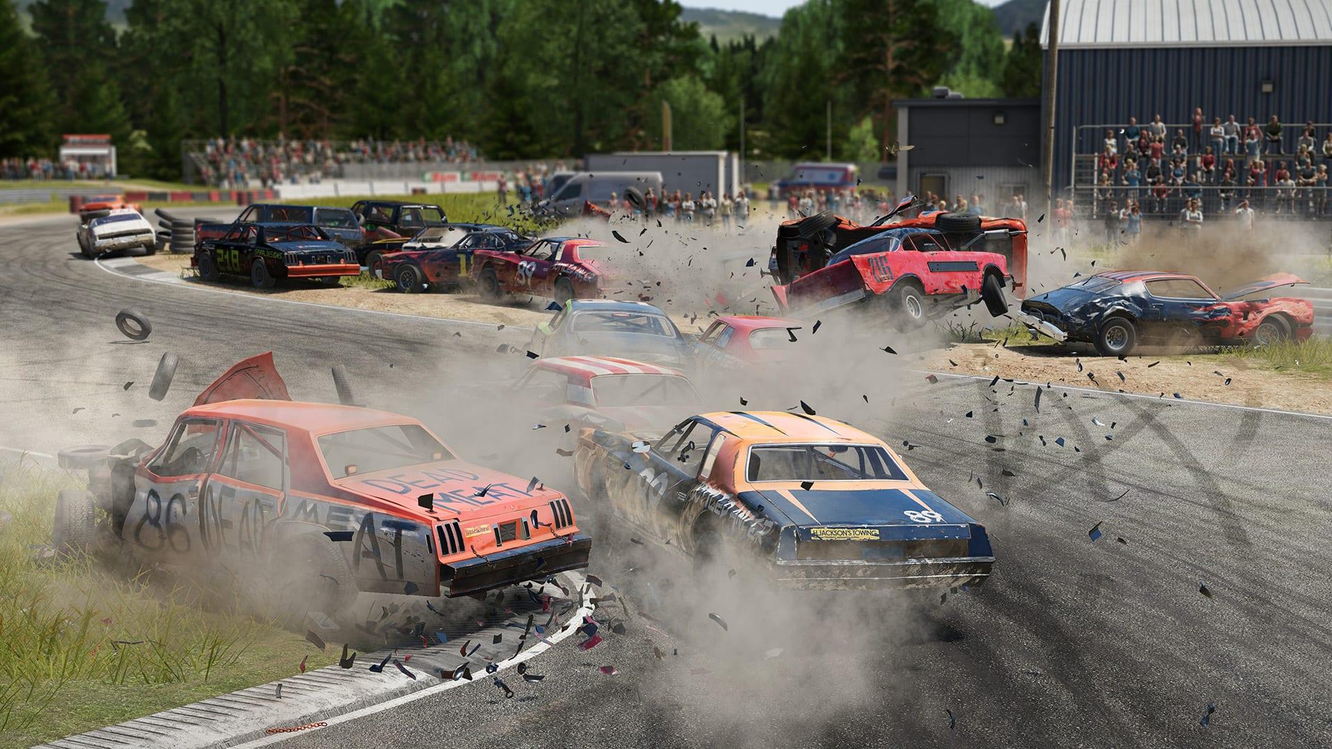 Wreckfest PS4 update