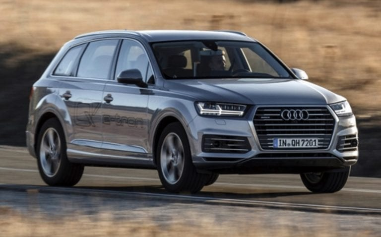 Audi Q7 2020 specifications