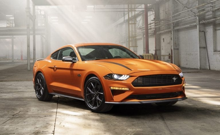 2020 Mustang GT specifications
