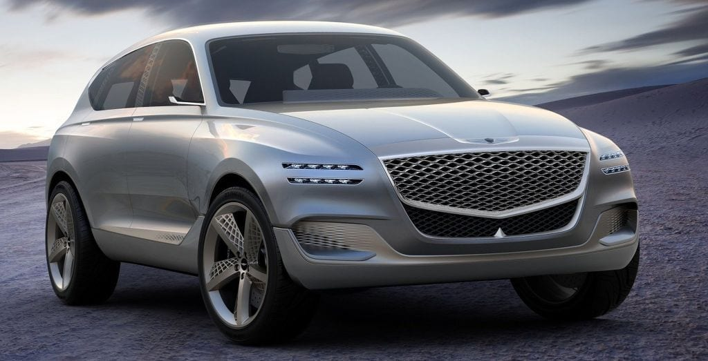 2020 Genesis Gv80 specifications