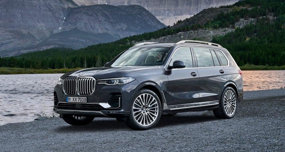 BMW X7 update