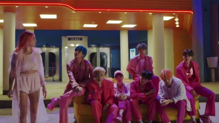 BTS Boy With Luv Release