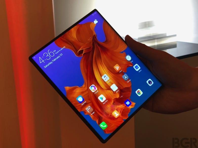Huawei Mate X update