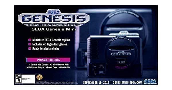 Sega Genesis Mini Release date and games