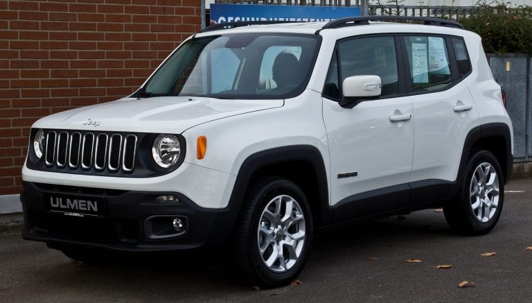 Jeep Renegade specifications