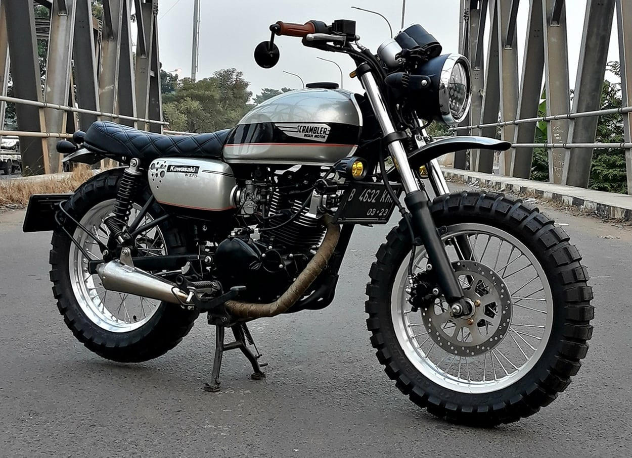 Kawasaki W175 price