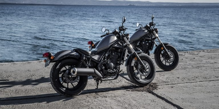 2019 Honda Rebel 300 And 500 specifications