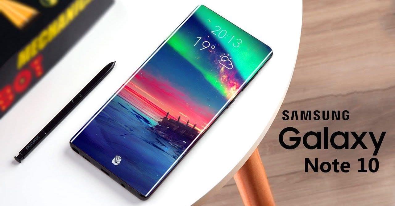 Samsung Galaxy Note 10 update