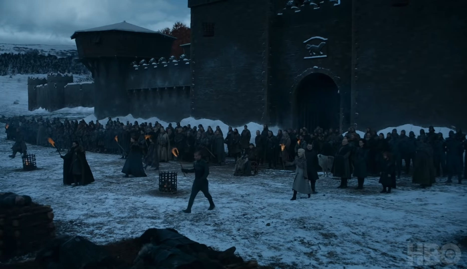 Ghost in Game of Thrones Season 8 Episode 4