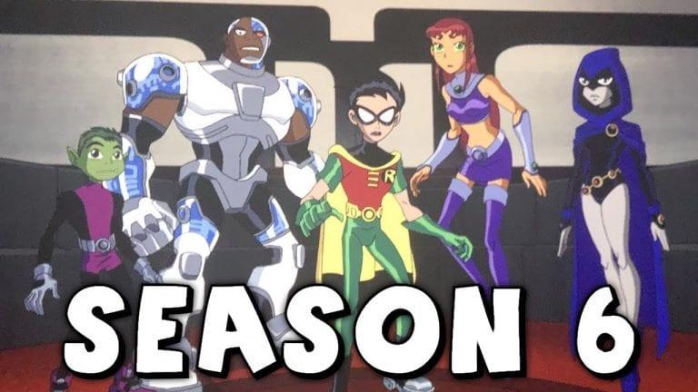 Teen Titans Season 6 Release Date