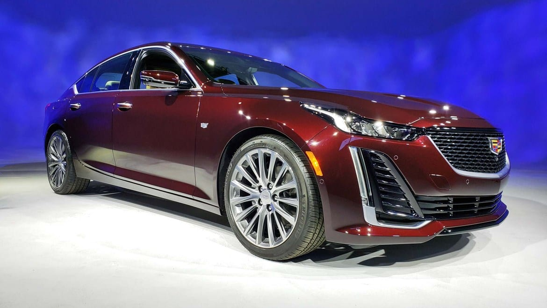 Cadillac CT5 update