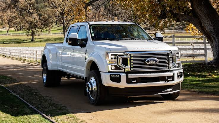 2020 Ford Super Duty specifications