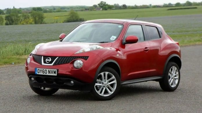 Nissan Juke 2019 specifications