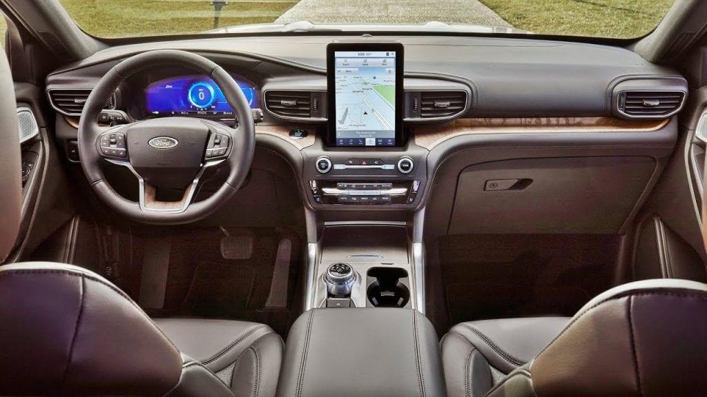 2020 Ford Explorer ST update
