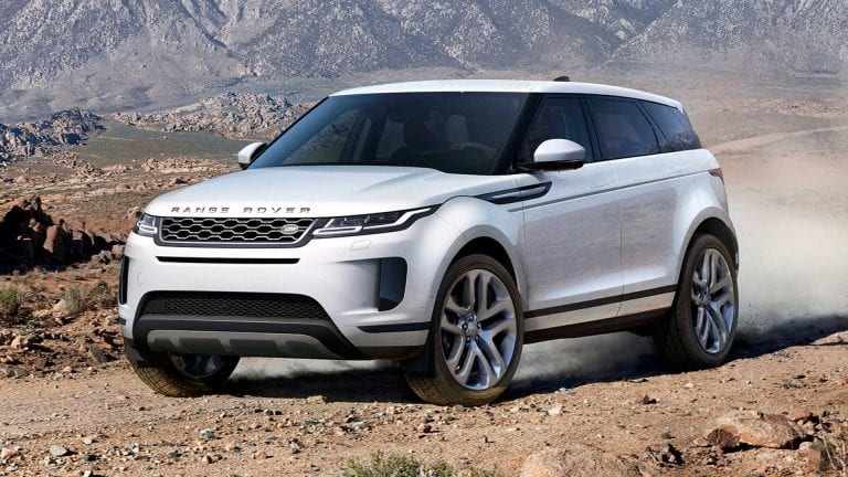 Range Rover Evoque 2020 Specification