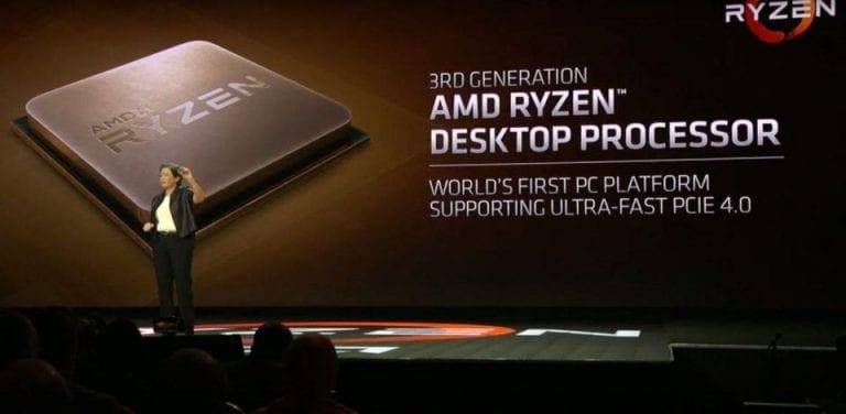 AMD Ryzen 3000 CPUs specifications