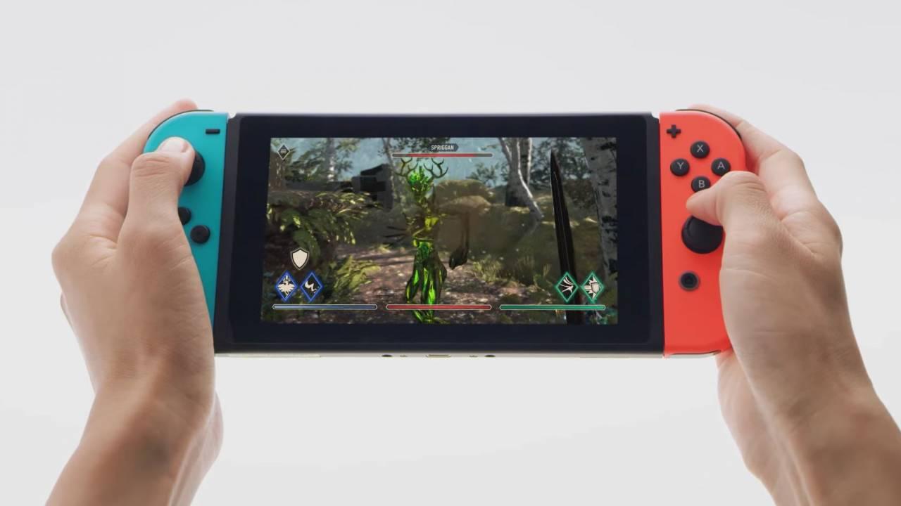 The Elder Scrolls Blades update On Switch