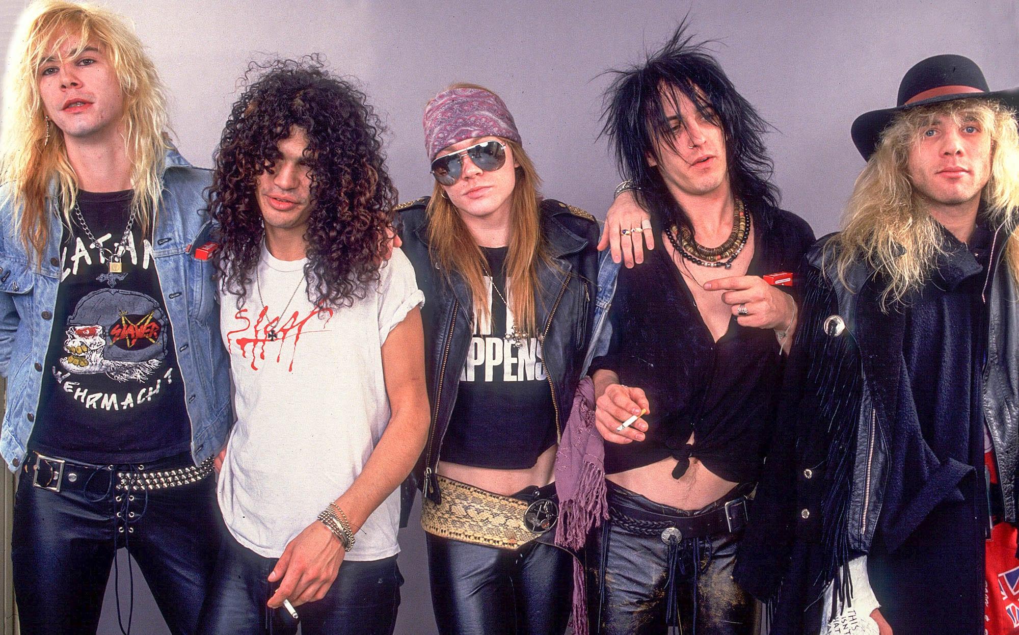 Former Guns N' Roses Star Steven Adler Hospitalized
