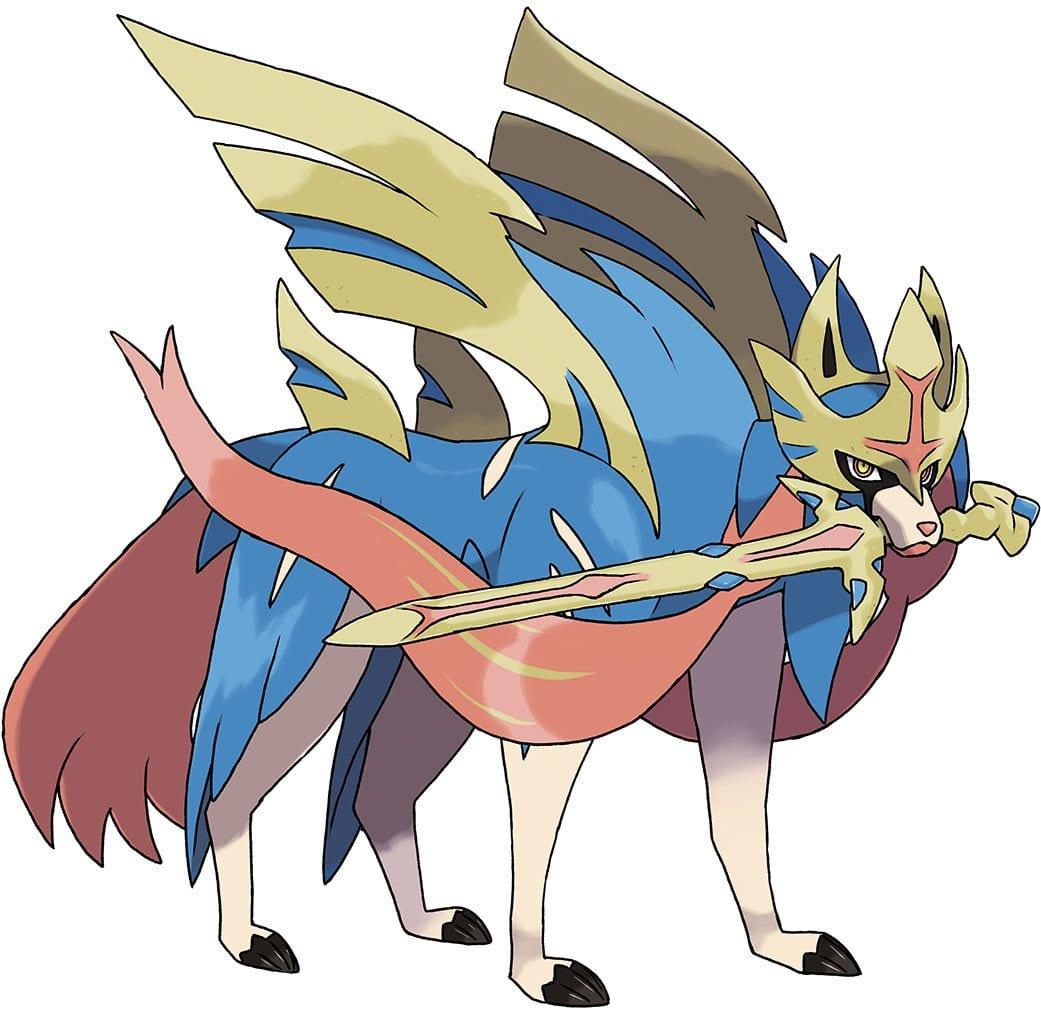 Zacian Pokemon Sword and Shield