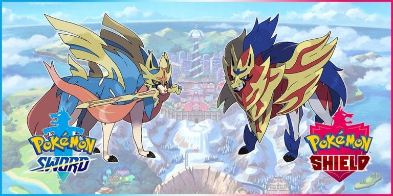 Pokemon Sword and Shield New Legendaries