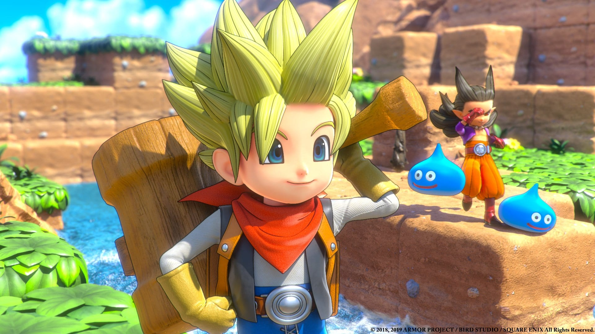 Dragon Quest Builders 2 update