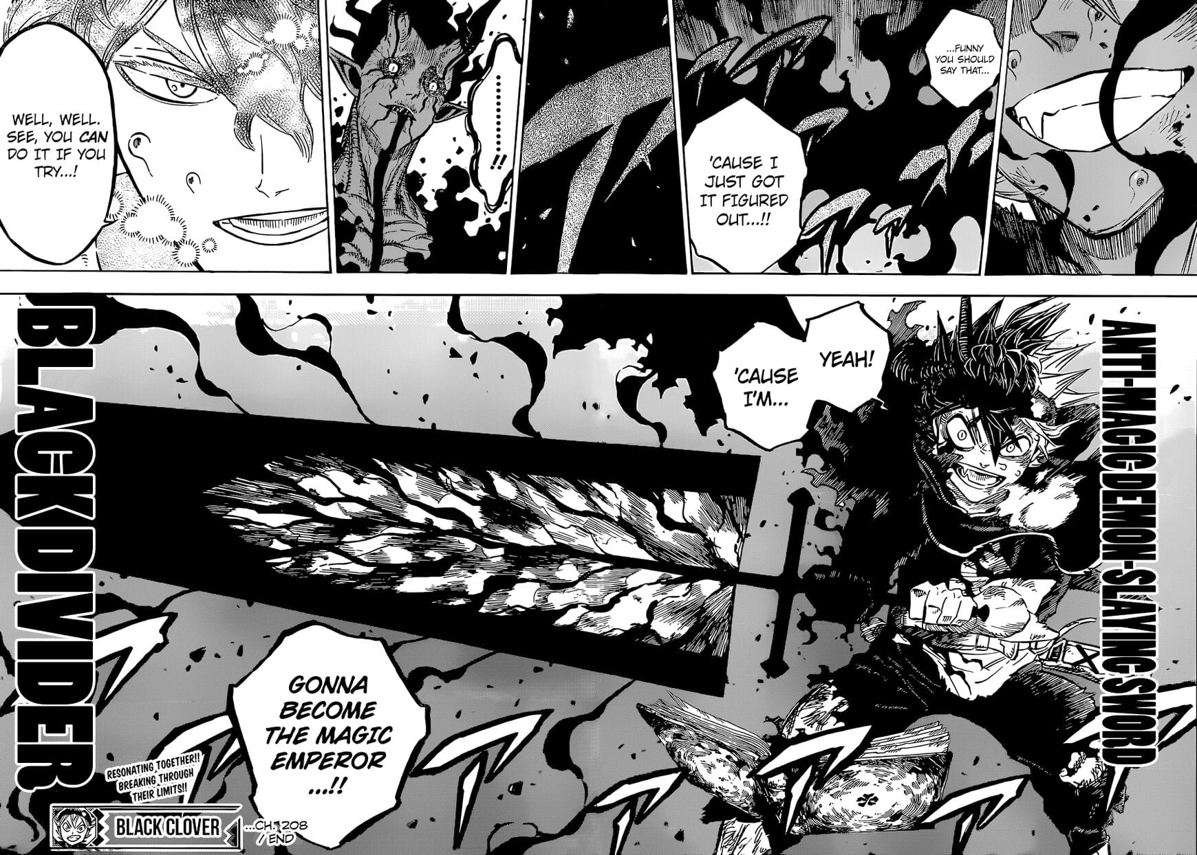 Black Clover Chapter 210 Spoilers