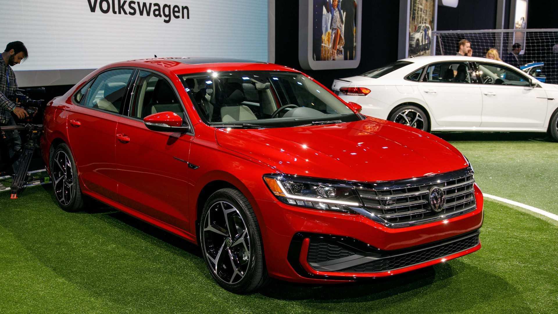 2020 Volkswagen Passat update