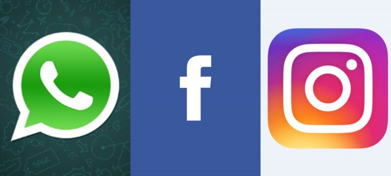 Facebook, Instagram, and WhatsApp Image Glitch