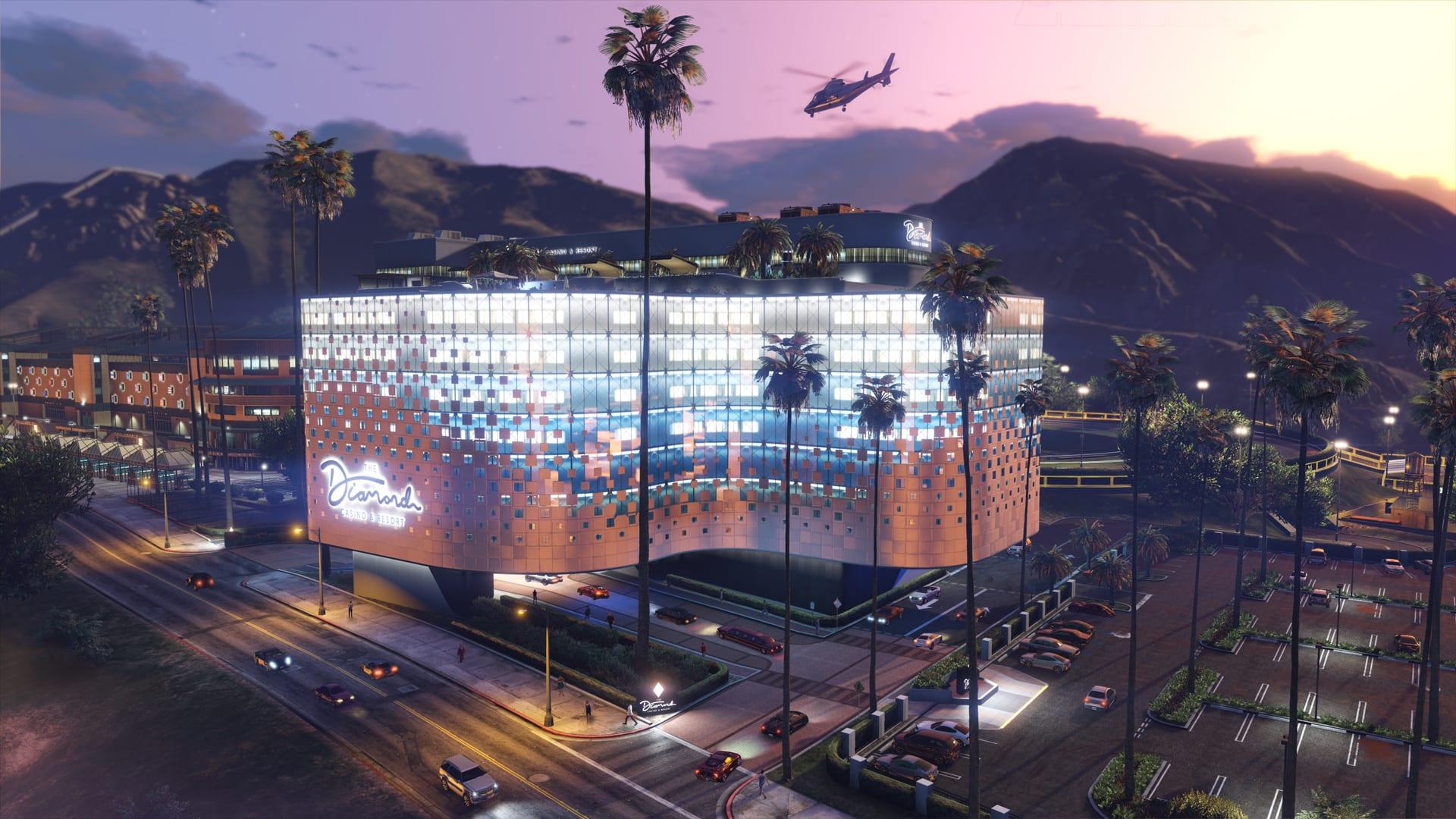GTAOnline: The Diamond Casino & Resort