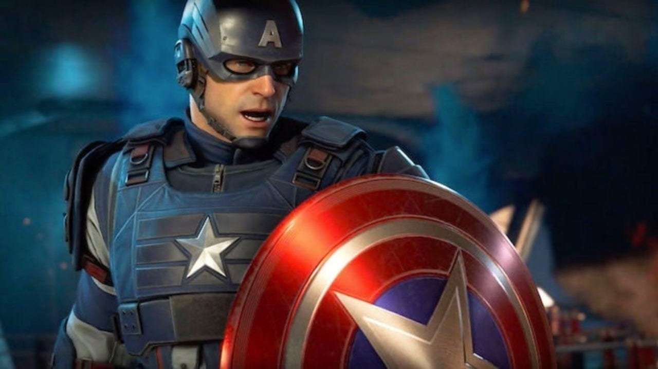 Marvel's Avengers Featuring Captain America (Crystal Dynamics)